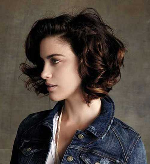Miraculous 20 Super Curly Short Bob Hairstyles Bob Hairstyles 2015 Short Hairstyle Inspiration Daily Dogsangcom
