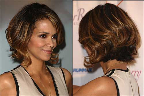 Thick Bobs Styles and Back Look 2014