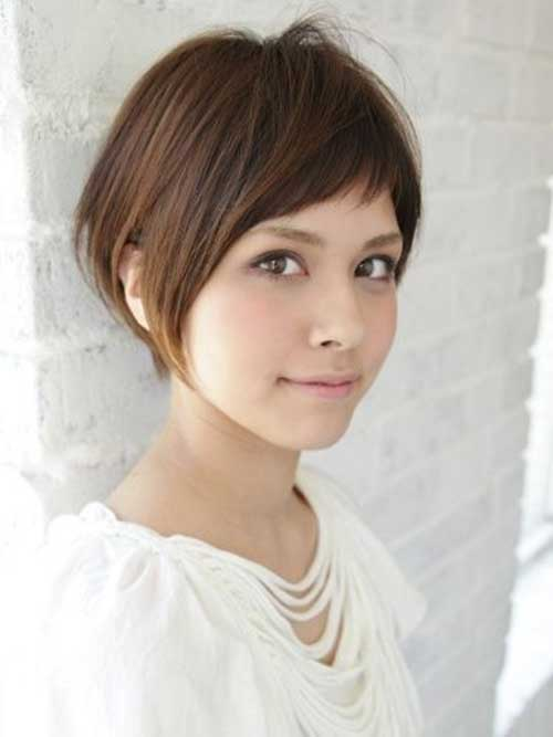 Thin Brown Bob Hairstyles