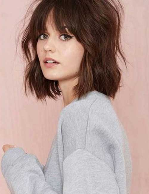 Brown Bob Hairstyles-9