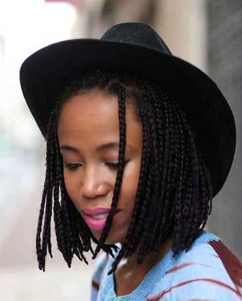 Braided Bobs Styles for Black Women
