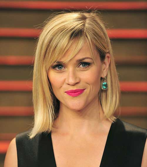 Cool Blonde Bob with Layers 2015