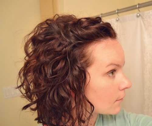 Nice Curled Bob Hair