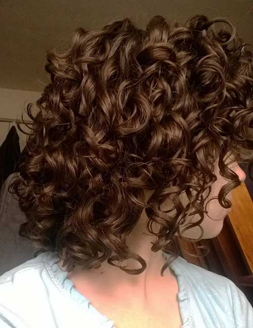 Curled Thick Bob Hairstyles