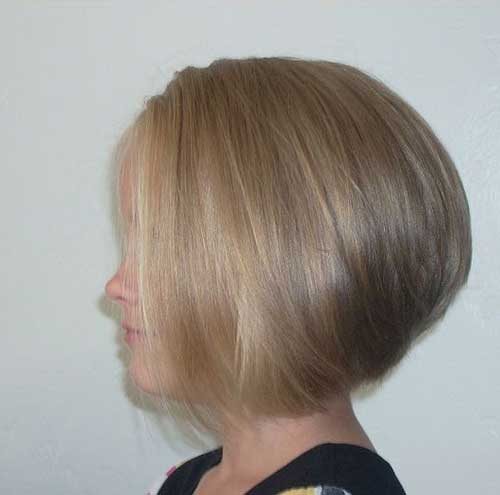 Fine Ash Blonde Hair Stacked Bob Ideas