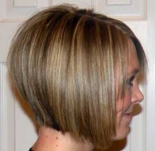 Fine Hair Stacked Bob Cut Ideas