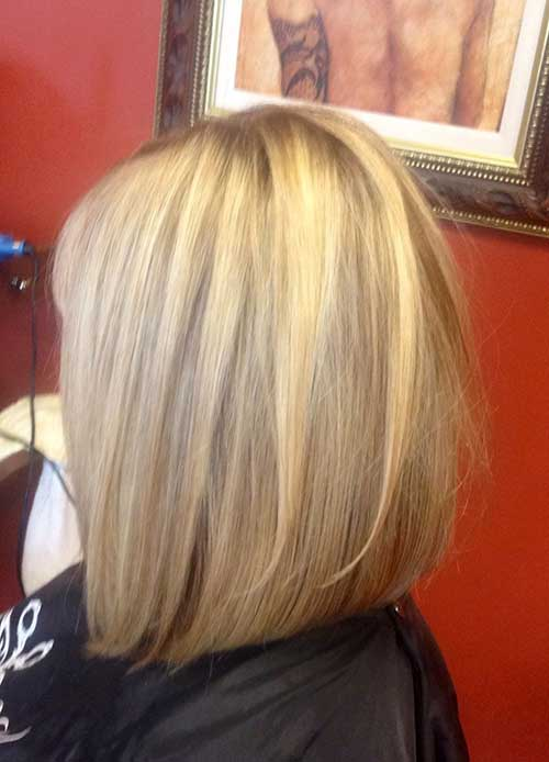 Inverted Long Layered Bob Hairstyles