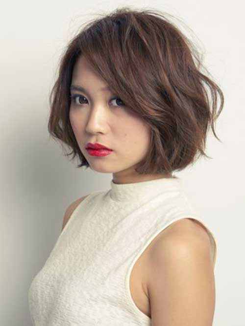 Japanese Messy Bob Hair