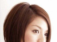 Japanese Straight Bob Haircut