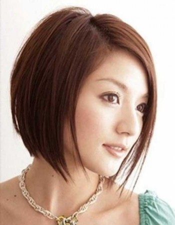 Japanese Straight Bob Haircut