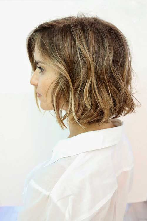 Natural Highlighted Bob Haircuts