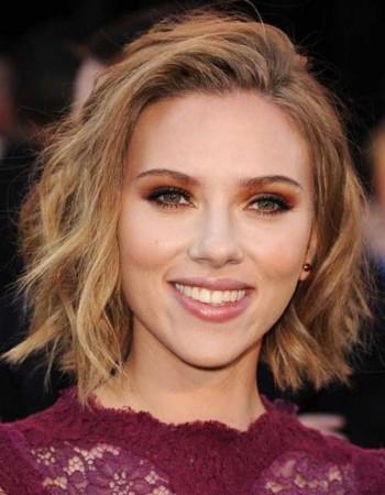 Scarlett Johansson Bob Haircut