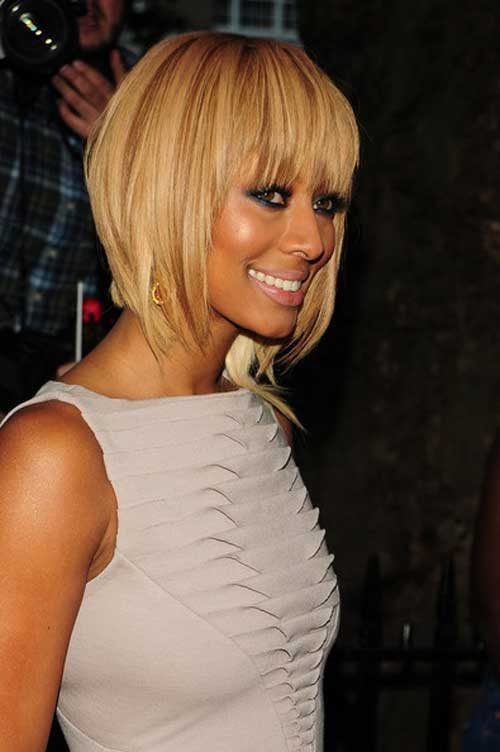 Short Blonde Bobs Ideas for Black Women