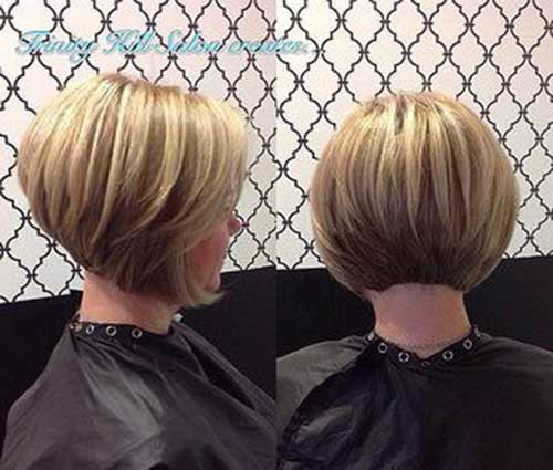 Back View of Bob Hairstyles | Bob Hairstyles 2018 - Short Hairstyles for Women