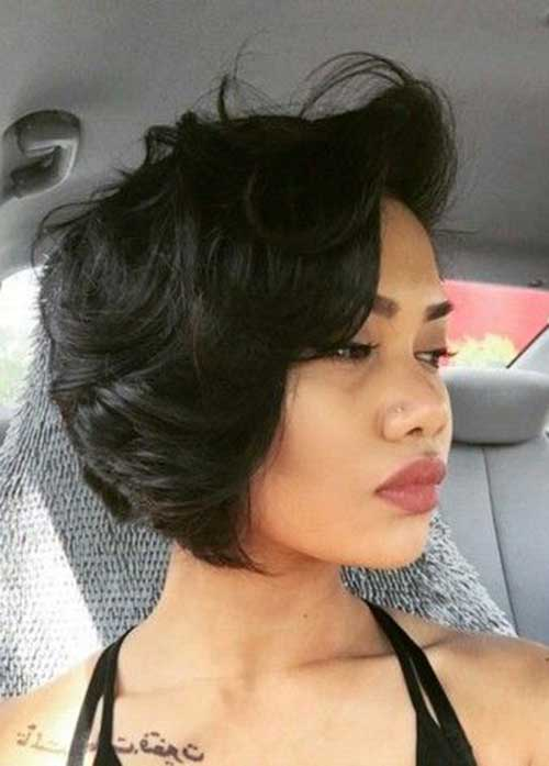 Short Layered Bob Cuts-11