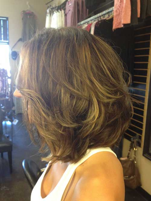 Short Layered Bob Cuts-13