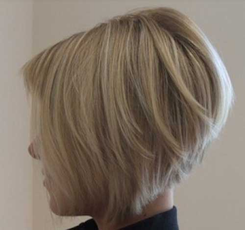 Short Layered Bob Cuts-15