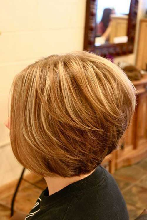 Back View of Bob Hairstyles | Bob Hairstyles 2017 - Short ...