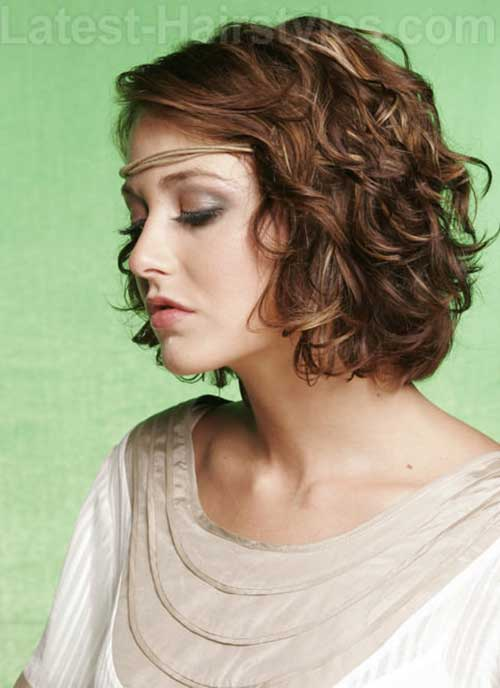 Magnificent Curly Hair Bob Pics Bob Hairstyles 2015 Short Hairstyles For Women Hairstyles For Men Maxibearus