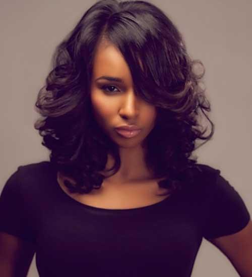 Astonishing 20 Long Bob Hairstyles For Black Women Bob Hairstyles 2015 Hairstyles For Women Draintrainus
