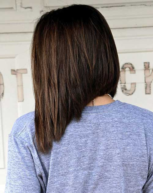 Inverted Long Bob Styles Bob Hairstyles 2018 Short