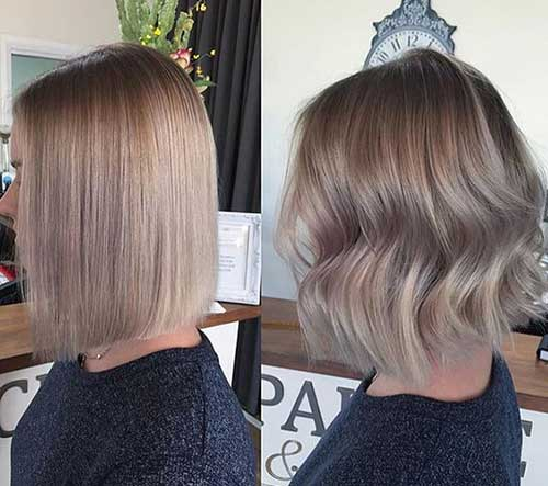 Ash Blonde Bob Hairstyles