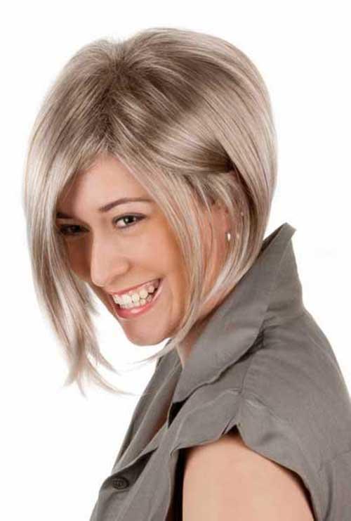 Ash Blonde Bob Hair