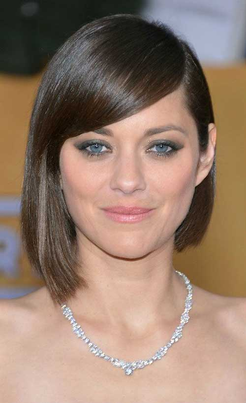 Dark Asymmetrical Bob Haircuts 2014
