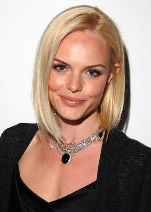 Blonde Asymmetrical Bob Haircuts 2015