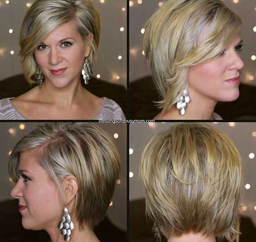 Asymmetrical Casual Bob 2014-2015