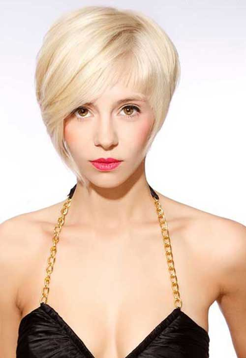 Asymmetrical Pixie Bob Haircuts 2015