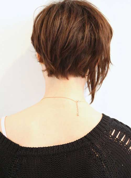 Asymmetrical Back of Bob Haircut