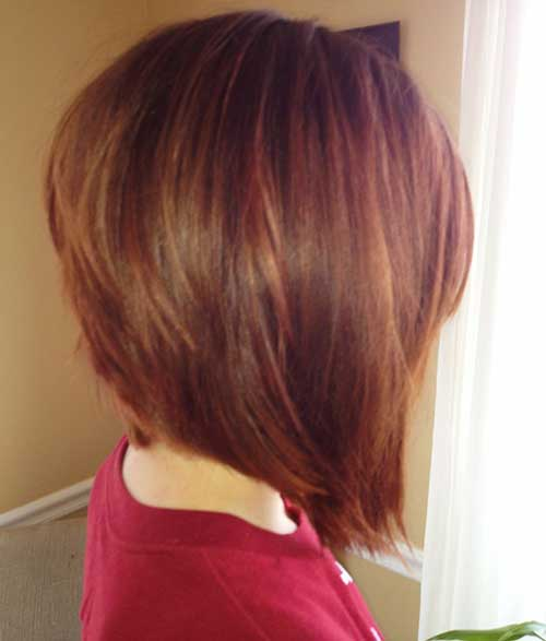 Back of Inverted Bob Hairstyles