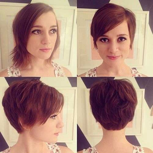 Back of Pixie Bob Haircut Ideas