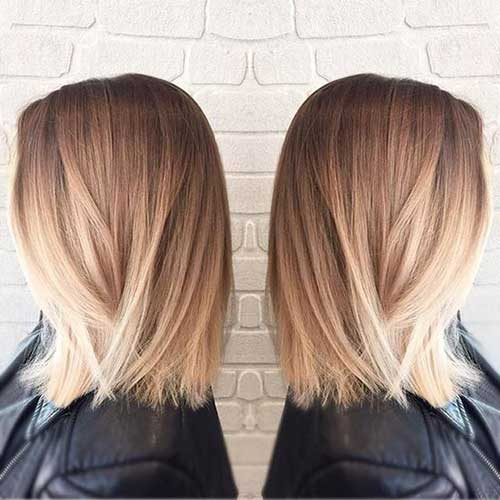 Balayage Bob Ideas