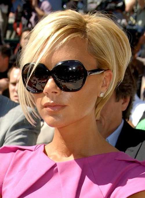 Beautiful Blonde Layered Bob Hairstyles 2015