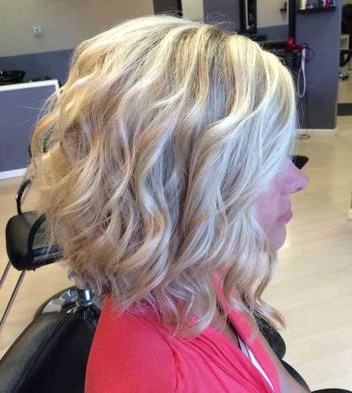 Beautiful Curly Bob 2015