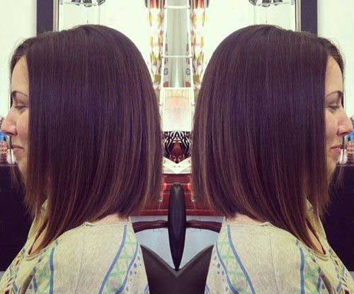 Beautiful Dark Straight Bob