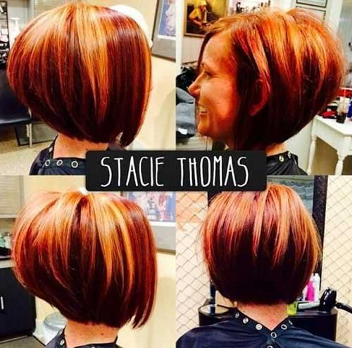 20 Best Stacked Layered Bob  Bob Hairstyles 2017  Short