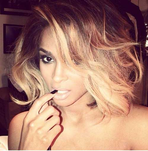 Black Girl Blonde Bob Hairstyles