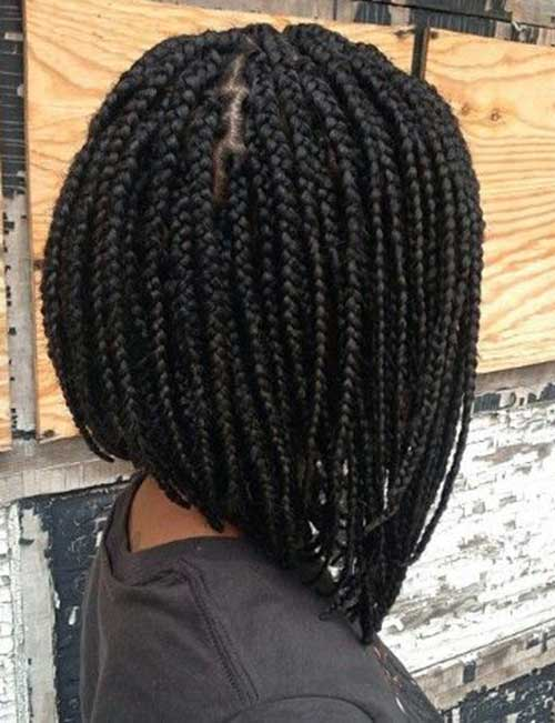 Black Girl Box Braids Bob