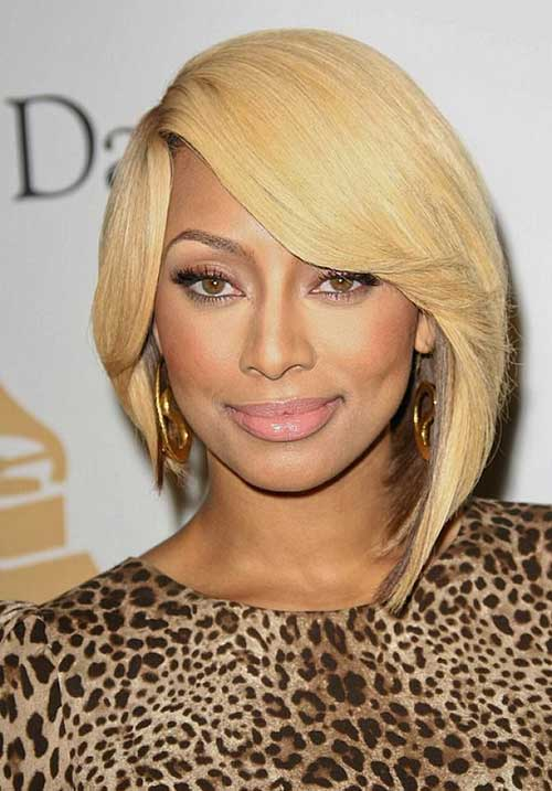 Black Women Blonde Bob Hairstyles