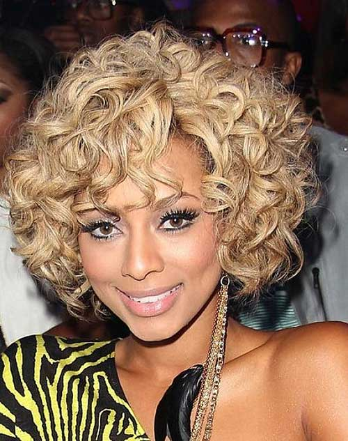 Black Women Curly Blonde Bob Ideas