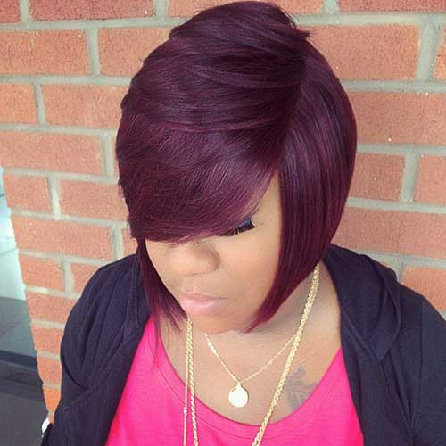 Black Women Fine Bob Hairstyles