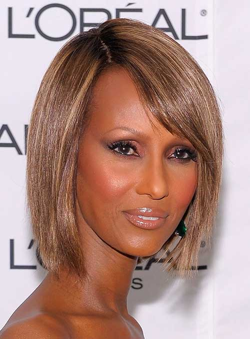 Blonde Bob Haircuts for Black Women