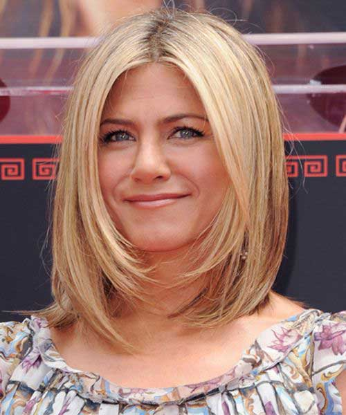 Blonde Long Bob Hairstyle 2014