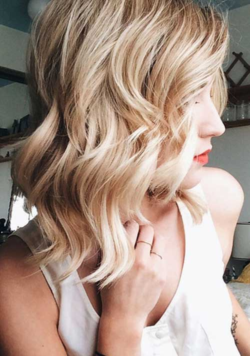 Blonde Long Bob Hairstyles