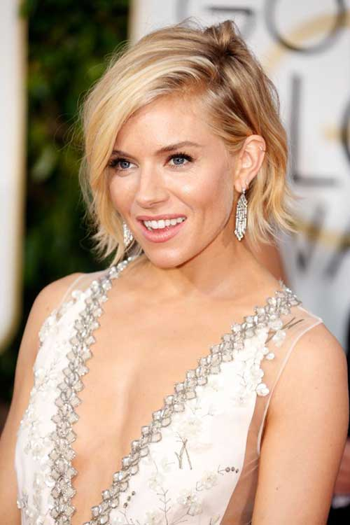 Bob Hairstyles of Sienna Miller