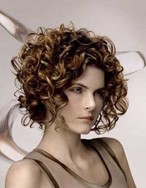 Enjoyable Bobbed Haircuts For Curly Hair Best Hairstyles 2017 Hairstyle Inspiration Daily Dogsangcom