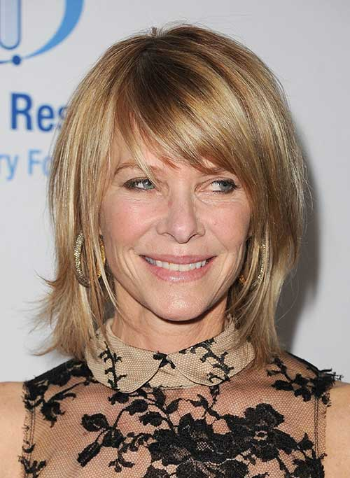 Bob Layered Hair Styles for Women Over 40